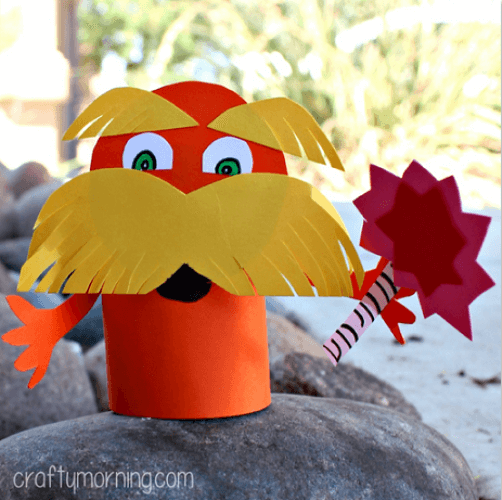 """On Dr Seuss Day, let's celebrate the father of wit & wisdom with these simple Seuss Crafts for kids! As he says, """"These things are fun and fun is good!"""""""
