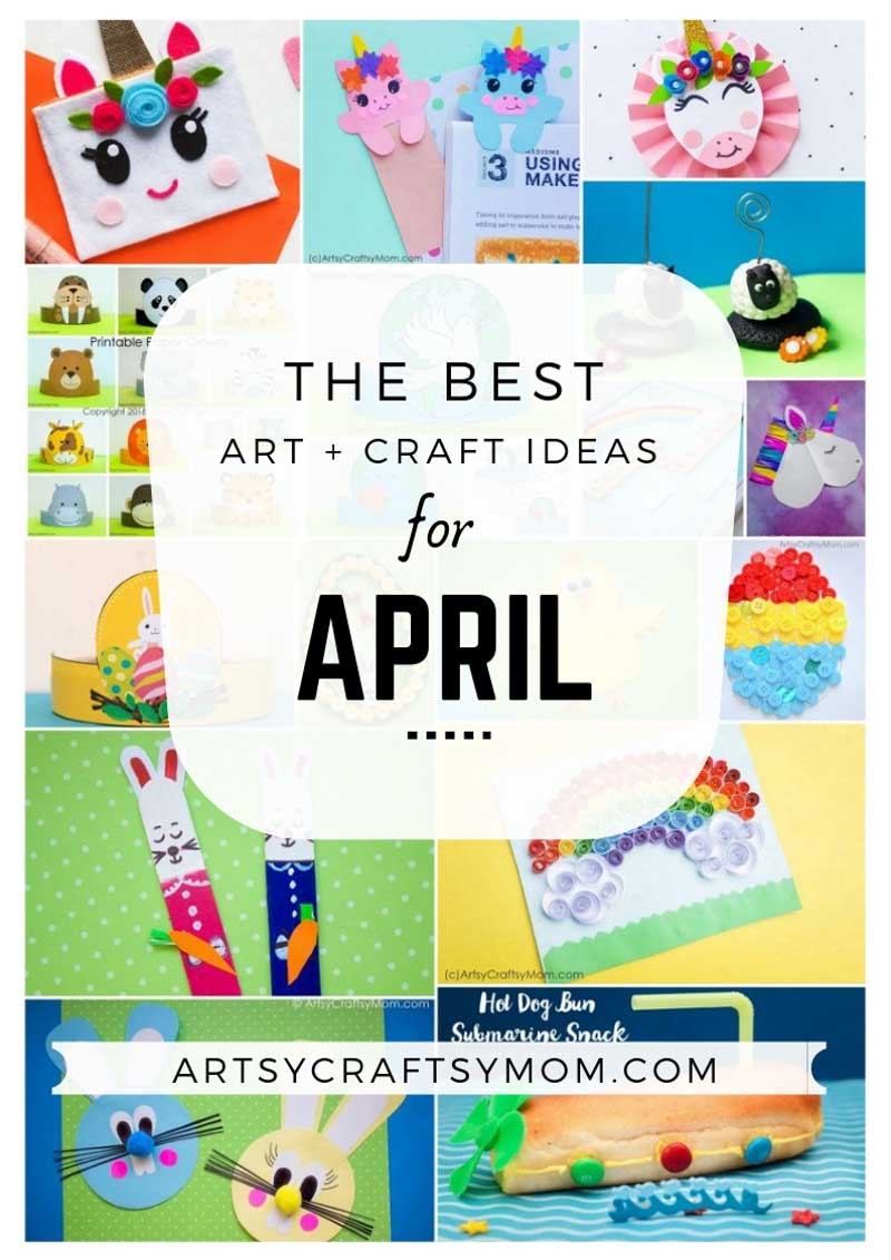 Art And Craft Ideas For April