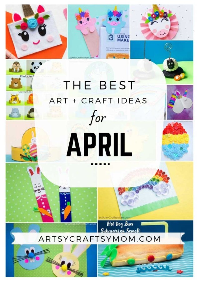 Art and Craft Activities for the month of April