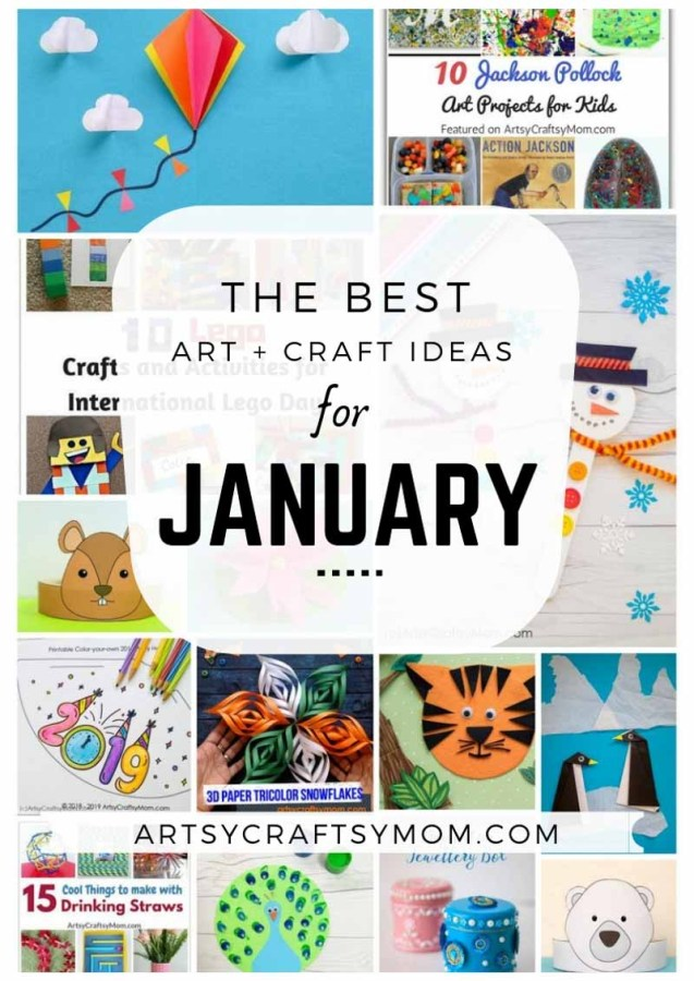 Holiday crafts and activities for kids - ArtsyCraftsyMom