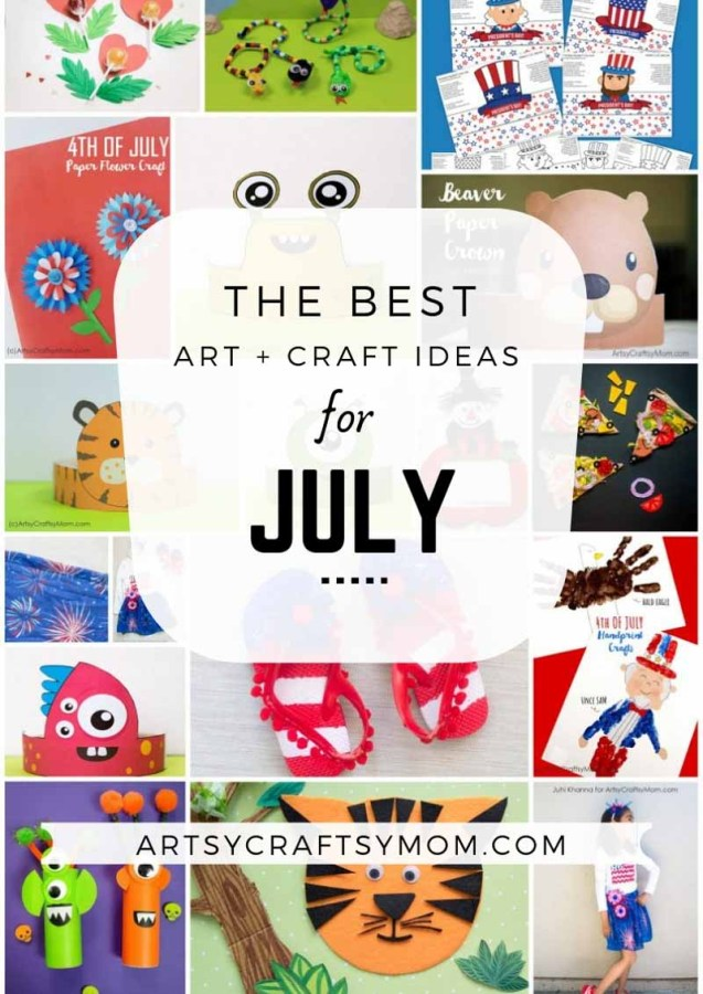 Art and Craft Activities for the month of July