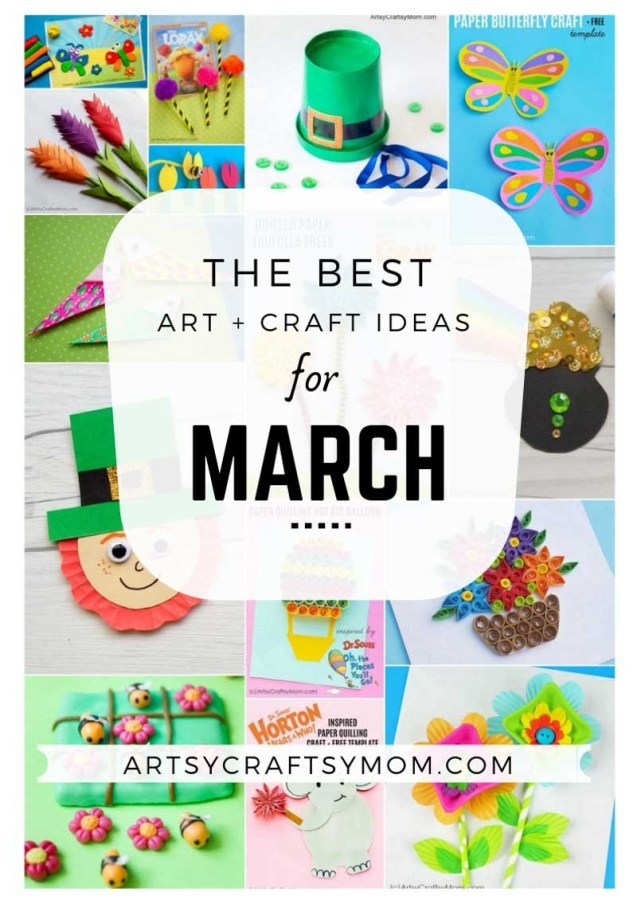 Art and Craft Activities for the month of March