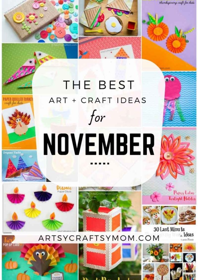 Art and Craft Activities for the month of November