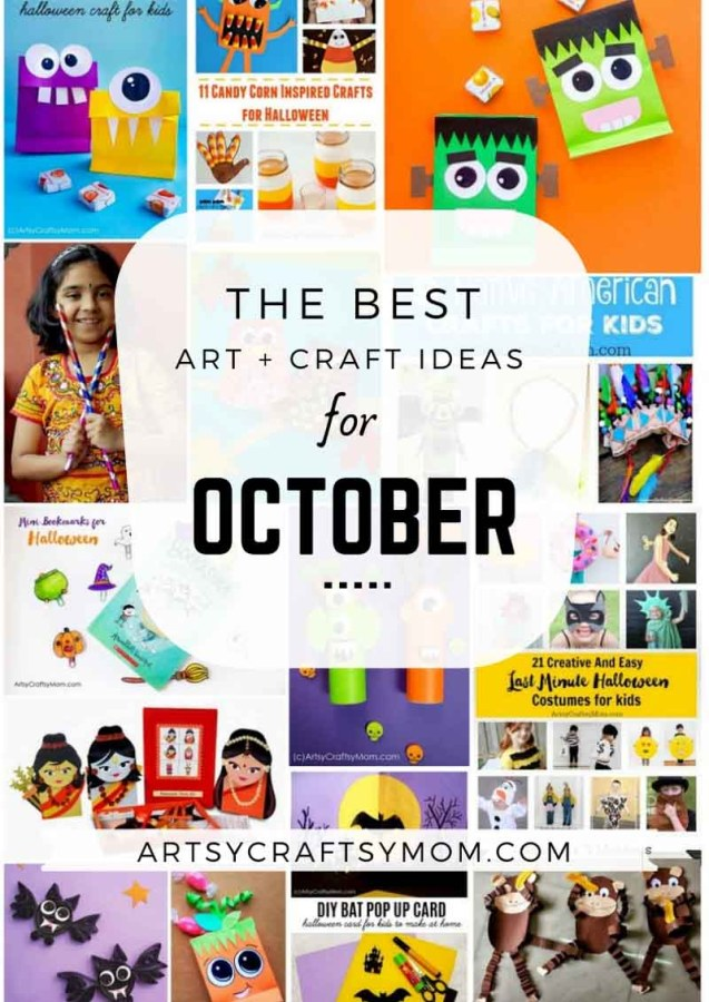 Art and Craft Activities for the month of October