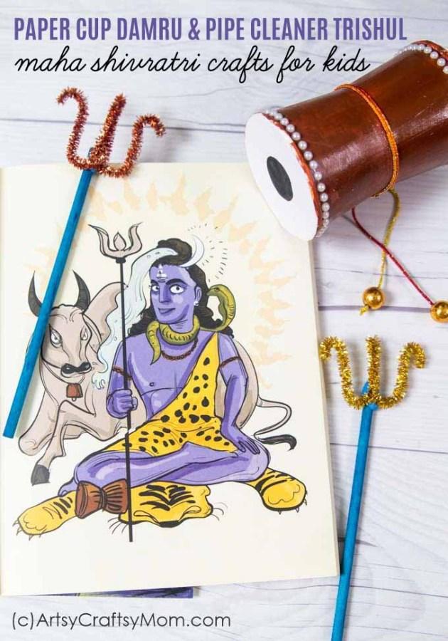 Maha Shivaratriiscelebratedin honor of Lord Shiva. Let's celebrate this auspicious occasion with some easy Maha Shivratri Activities for Kids.