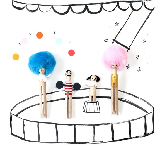 Circus Theme Art Projects