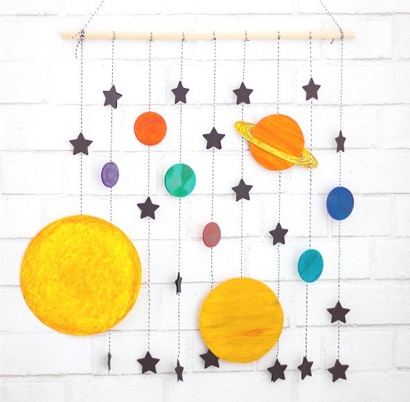 Learn about the planets, galaxies and more with these awesome Outer Space Crafts for Kids! Perfect for Show and Tell or summer STEAM projects!