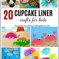 20 Easy Cupcake Liner Crafts for Kids