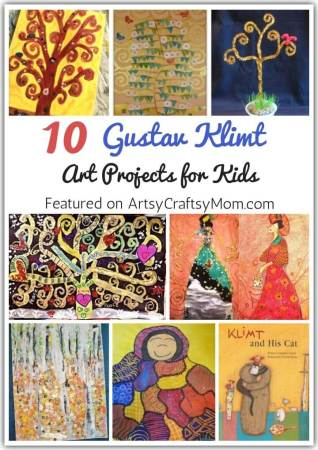 10 Gustav Klimt Art Projects for Kids