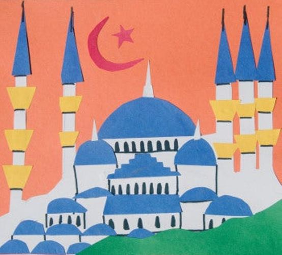 Celebrate the festival of sacrifice with some magnificent Mosque Crafts for Eid al-Adha! Turn them into greeting cards, decor or wall hangings!