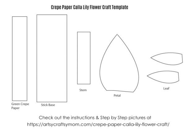 Paper Calla Lilies | Tissue paper flowers, Calla lily, Paper ... | 430x600