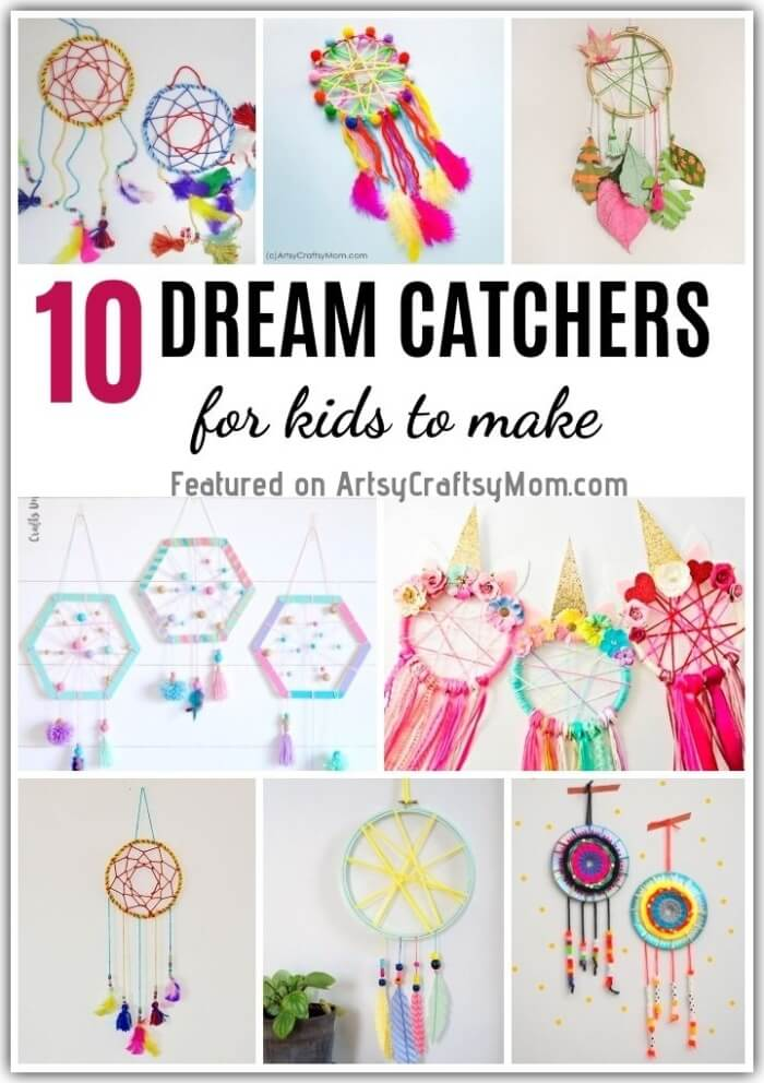 image about Legend of the Dreamcatcher Printable identified as 10 Do it yourself Aspiration Catchers for Little ones in direction of Produce