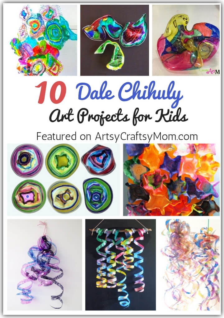 Chihuly Inspired Art Projects
