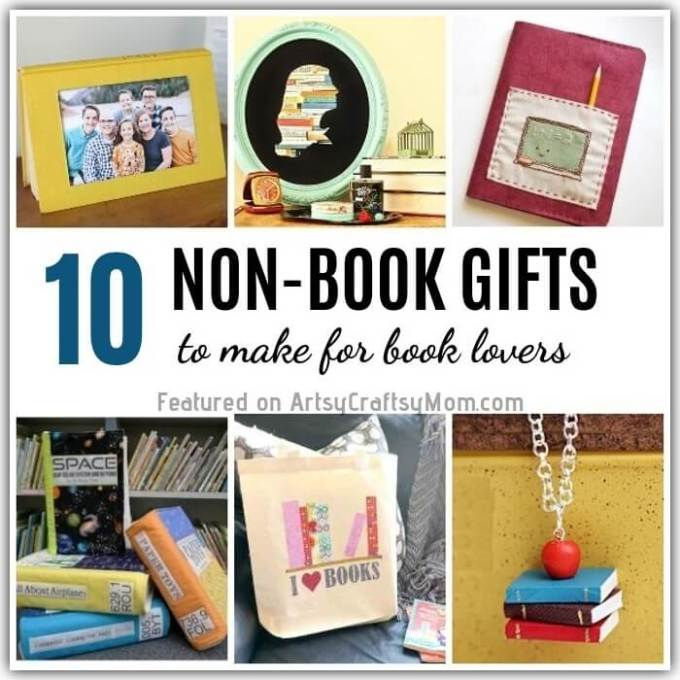 10 Easy And Cute Diy Gifts For Book Lovers