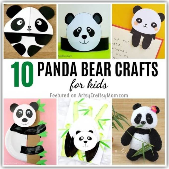 They're cute and some of them know Kung Fu - our playful panda crafts for kids celebrate the cute and cuddly national animal of China - the panda!