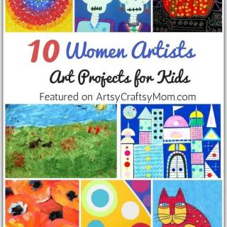 This Women's Day, celebrate some amazing female artists who've broken boundaries with art. Get kids started with our Amazing Art Projects by Women Artists,