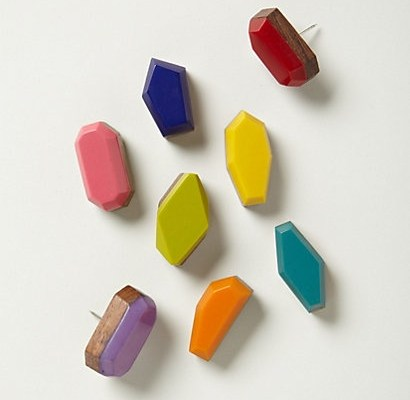 Faceted Pushpins by Anthropologie