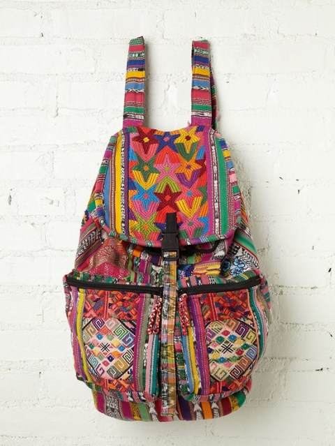 Santiago Patchwork Backpack from Free People