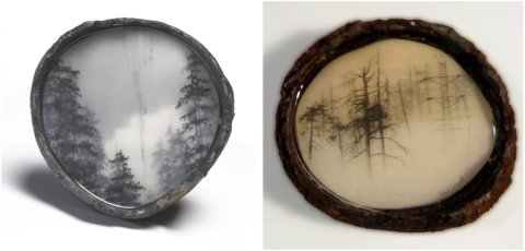 Tangled and Half Nature, Half Power by Brooks Salzwedel