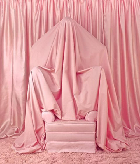Pink Chair by Patty Carroll