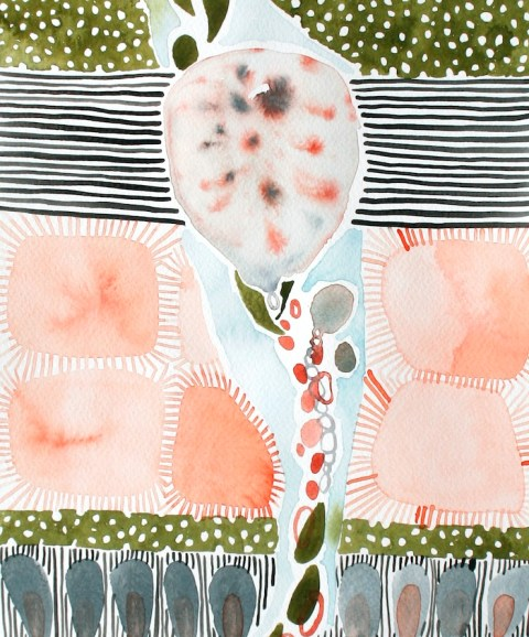 Erin McIntosh | artsy forager #art #abstractart #paintings #watercolor