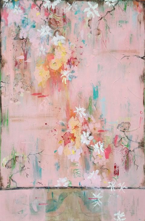 Kathe Fraga   artsy forager #art #artists #mixedmedia #paintings #floral