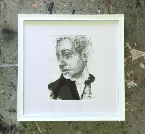 Federico Tomasi studio | artsy forager #art #artists #studios