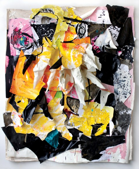 Howard Sherman | artsy forager #art #artists #paintings #collage #contemporaryart #abstractart