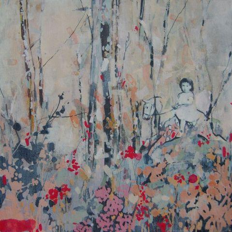 Hannah Lewis Davies | artsy forager #art #artists #paintings #contemporaryart