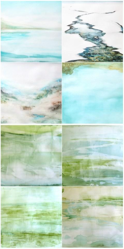 Lesley Frenz watercolors