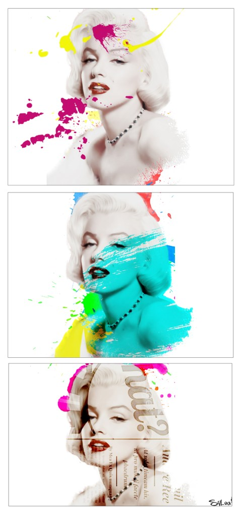 Re-visited (60x128cm) - Marylin