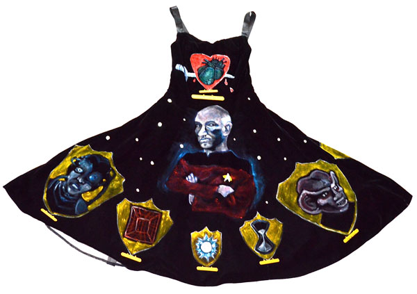 The Triumphs of Picard (Front of Dress)