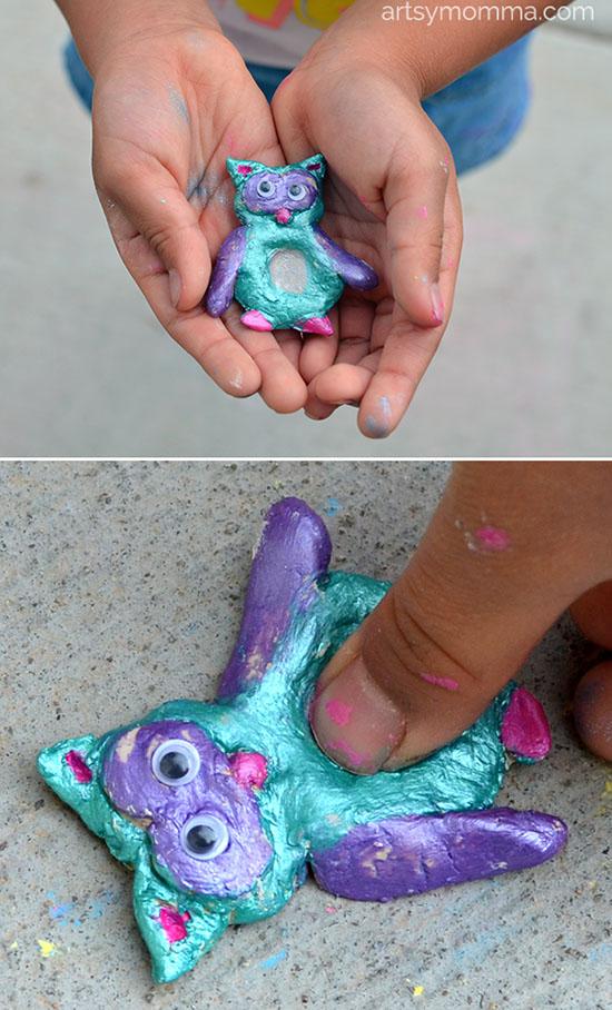 Image result for kids diy clay crafts