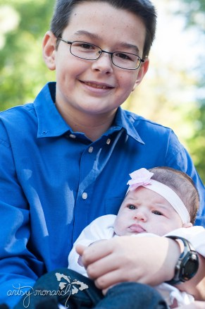 Layla and big brother Zach