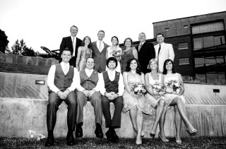 The Bridal Party and Family