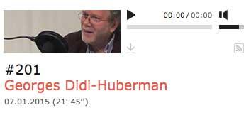 Georges Didi-Huberman, Interview