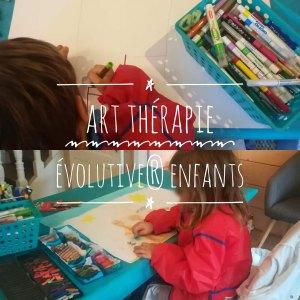 Séance d'art-thérapie evolutive® enfant au cabinet de Carignan-de-Bordeaux