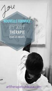 Sophrologie et Art-Thérapie Evolutive® enfant au cabinet de Carignan-de-Bordeaux