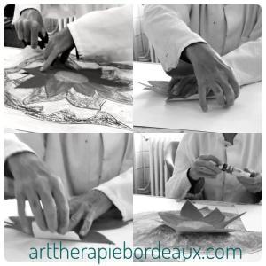 Séance individuelle adulte d'art-thérapie evolutive® au cabinet de Carignan