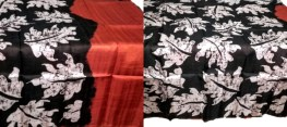 Batik Work on Bishnupuri Silk