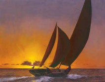 Sails in the Sunset