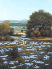 Valley of the Bluebells II (Giclee)