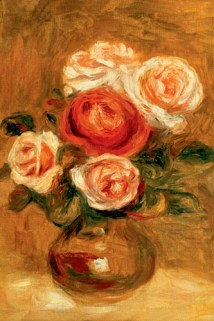 Roses in a Copper Vase