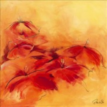 Red Flowers IV