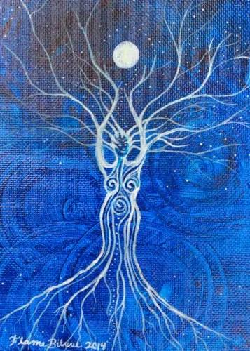 Goddess Moon by Flame Bilyue
