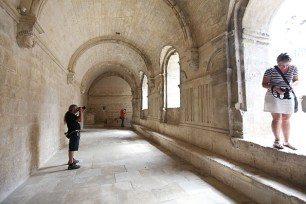 Shooting in a 1500 year old abbey
