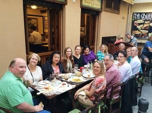 Dinner in Granada