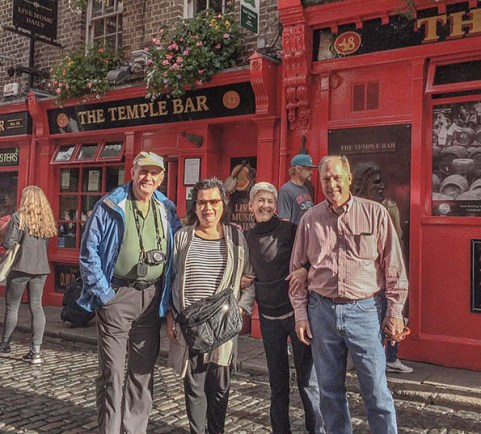 Group @ Temple Bar
