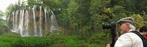 Capturing waterfalls.