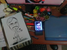 caricature drawing 2